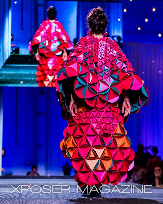 Paper Fashion Show 2019-Flower of Life